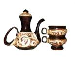 50104 Кофейный набор (Кофе вдвоем) Кофейник 480мл и 2 чашки 90 мл