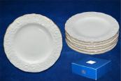 30870 Набор 6 тарелок 7,5 Белая ночь