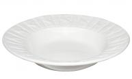 30821 Тарелка для супа 22см Плетеный орнамент