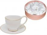 1702 Сервиз чайный 12 пр. Лебедь (чашка - 240мл, блюдце - 14,5см)