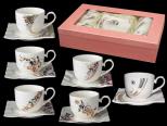 1750 Набор чайный 12пр. 250мл Кристаллы