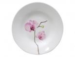 3082 Тарелка суп 8 '154 Розовая орхидея