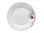308 Тарелка 7,5 154 Розовая орхидея