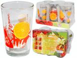 945 Набор стаканов 0,24 л 6шт. (4) Оранж
