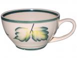 50192 Чашка Чайная рисунок Осень зеленая 380 мл