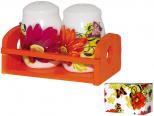 6321 Емкость для сыпучих продуктов  320мл Цветы