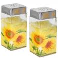 6141 Емкость для сыпучих продуктов на зажиме 1,1 л (Солнечный подсолнух)
