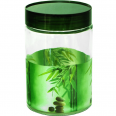613 Емкость для сыпучих продуктов 1,4 л. (Зеленый бамбук)