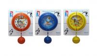 05-010 Часы настенные Детские с маятником Баскетбол кварц.пластик 29,9*5,6*41,2см