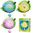 05-100 Часы настенные Детские Бабочка кварц.пластик