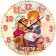 05-403/14 Часы настенные Письмо Детская серия МДФ круг 25см
