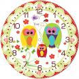 05-403/13 Часы настенные Мамина нежность Детская серия МДФ круг 25см