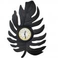 02-212 Часы настенные Листик метал. (41,5*5*28см)