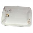 30827-G11 Тарелка для рыбы 16 Золотой завиток