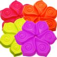 20056 Форма для выпекания кексов Цветок h3см,d25см