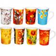 2110 Чашка Цветы 250мл