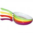 80102 Сковорода с керам.покрытием 24см МИКС 24 см