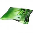 377 Салатник квадрат. Элегант 8'-21см. (Зеленый бамбук)