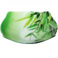 393 Салатник квадратный с круглыми краями мал.(16.5*16.5*5.5cм) (Зеленый бамбук)