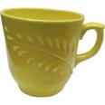 50204 Чашка Сумы рифлёная лимон 350мл
