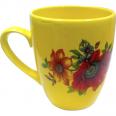 50198 Чашка Европа лимон с деколью 400 мл