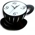 01-224 Часы настенные Чашка кофе 29 * 25 * 4,6см