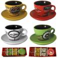 1463-3 Сервиз чайный 12ел. чашка-220 мл, блюдце-14 см