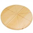 8907 Доска кухонная для пиццы 31 см (толщ-1см)
