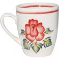50197 Чашка Европа рисунок большая Роза 380мл