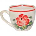 50199 Чашка Одесса рисунок большая Роза 240мл