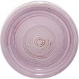 5118-1 Тарелка 10,5 'Полоска фиолетовая