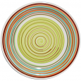5116-2 Тарелка 7,5 'Полоска зеленая