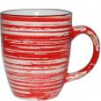 6115 Чашка 360мл Пастель красная