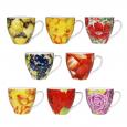 647-026 Горшок для цветов микс-3 12,5 * 12,5 * 12 см (0,8л)