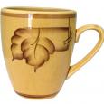 50198 Чашка Европа рисунок осень коричневая 400мл