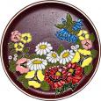 531082 Осенний букет Тарелка 22,5 см