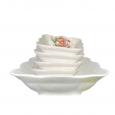 50035 Набор квад.салатников 5пр.(1большой+4маленьких)