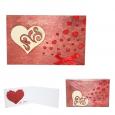 95403-01 Открытка HAPPY BIRTHDAY Love-Сердце 2х слойная 95*145мм