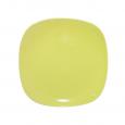 3580 Тарелка квадратная 10,5' желтая