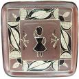 531520 Блюдо квадратное Триполье (28*28см)