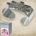 37222 Набор колец для салфеток 4шт, 5,5 * 2,5 * 3 см, декор Виноград