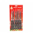 8513 Набор ножей Маруся 6 пр. на блистере (Лезвие: 11,5 см)