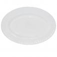 30063-00 Блюдо овальное белое 14' D1