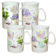 040-01-10 Чашка 350мл Ваза с цветами