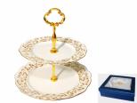 3084 Конфетница двухъярусная Невеста (8)