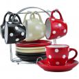 021-12-08 Сервиз чайный 12 пр. на стойке (чашка-240мл, блюдце-15,5см)