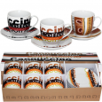 024-12-13 Сервиз эспрессо 12пр 'Американо' (чашка-90мл, блюдце-11см)