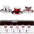 022-12-15 Сервиз кофейный 12пр 'Кофе модерн' (чашка-150мл, блюдце-13см)