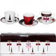 021-08-01 Набор 4 чашки+4 блюдца (чашка-180мл, блюдце-13см)