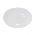 30066-01-00 Блюдо овал 10' Белое D2